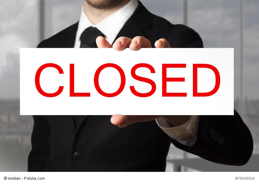 Jubilació amb tancament de l'empresa