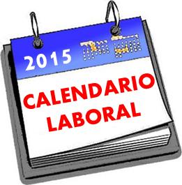 FESTES LABORALS PER A L'ANY 2015