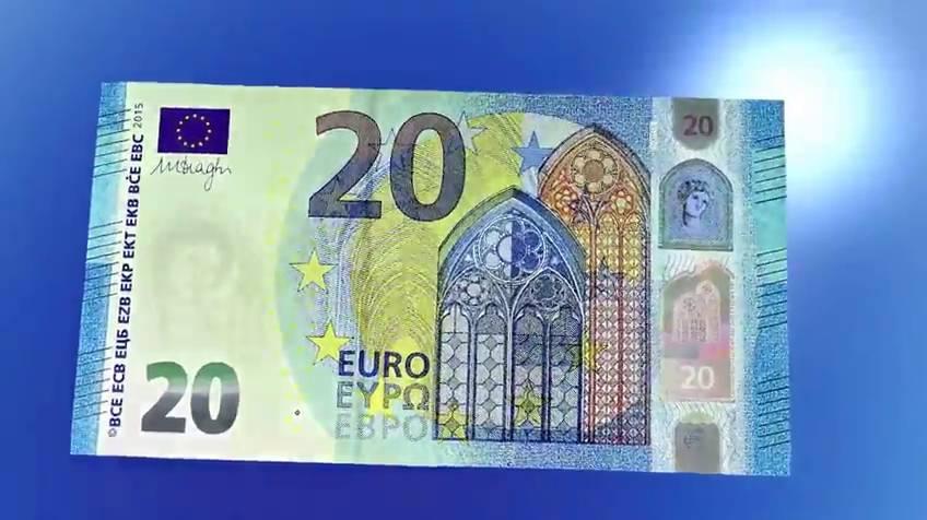TÉ DUBTES SOBRE EL NOU BITLLET DE 20 EUROS QUE VA ENTRAR EN CIRCULACIÓ EL PASSAT DIA 25 DE NOVEMBRE? L'HI EXPLIQUEM BREUMENT…