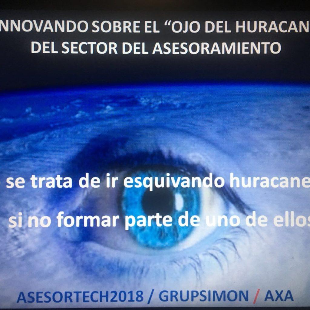 Hem de situar-nos a l'ull de l'huracà