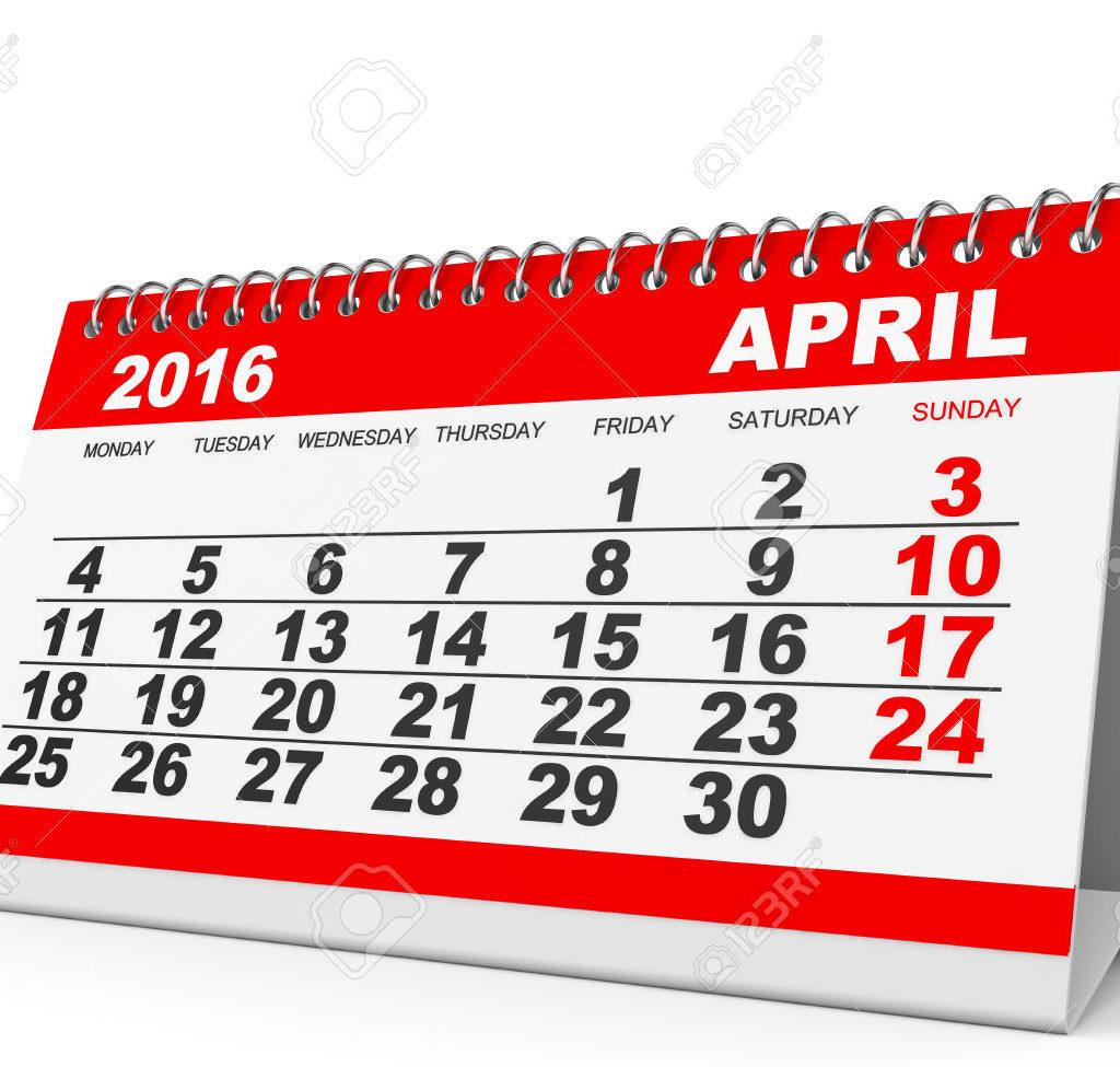 Recordatorio abril 2016: declaración de IVA, renta y patrimonio, retenciones y pagos fraccionados