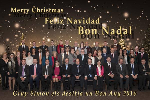 Feliz Navidad y próspero año nuevo 2016
