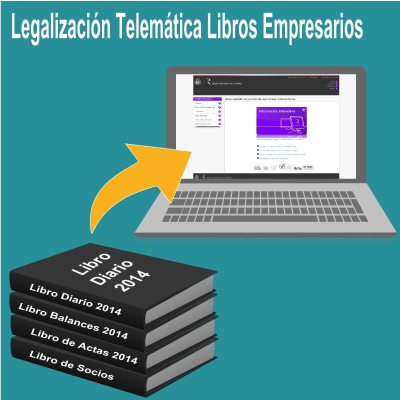 LEGALIZACIÓN TELEMÁTICA DEL LIBRO DE ACTAS Y DEL LIBRO REGISTRO DE SOCIOS / ACCIONES NOMINATIVAS: HASTA EL 30 DE ABRIL